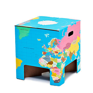 World Globe Table / Stool - children's furniture