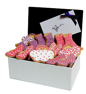 Fashionista Biscuit Box - food & drink gifts