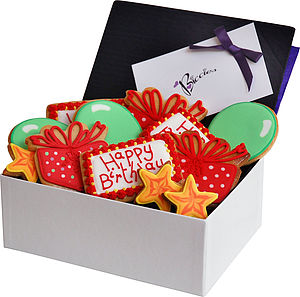 Birthday Biscuit Box - food & drink gifts