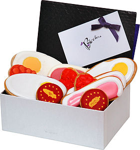 Full English Biscuit Box - cakes & sweet treats