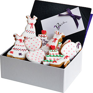 Wedding Gift Biscuit Box - food & drink gifts