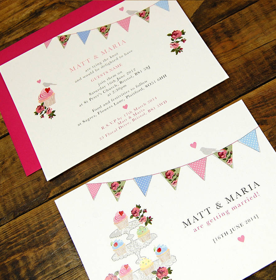 vintage inspired fete wedding invitation by ditsy chic ...