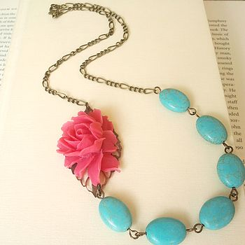 Turquoise Frida Necklace