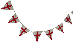 St George Bunting - bunting & garlands
