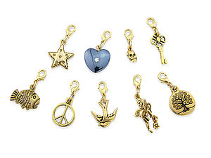 Golden Charms - women's jewellery