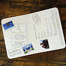 Passport Card Style -Inside Detail