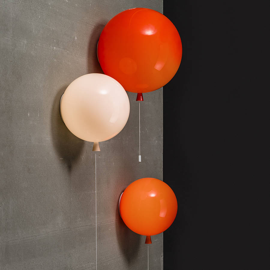 Memory Balloon Wall Light By John Moncrieff
