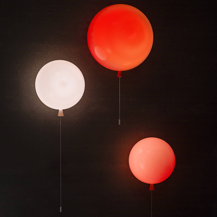 memory balloon wall light by john moncrieff. Black Bedroom Furniture Sets. Home Design Ideas