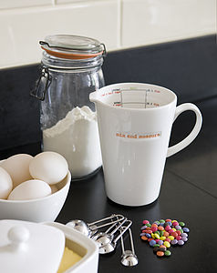 'Mix And Measure' Jug - kitchen accessories
