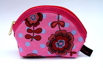 Vintage Style Cotton Coin Purse