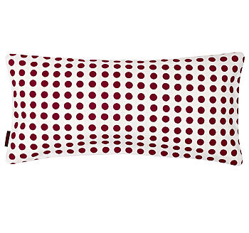 London 30x60cm Cushion Vermillion