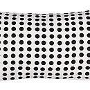 London Cushion Black 30x60cm