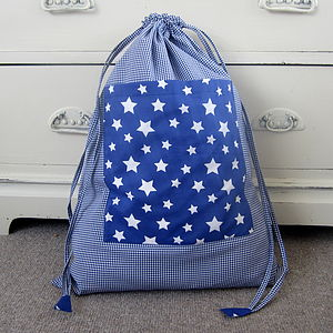Boys Stars PE Storage Bag