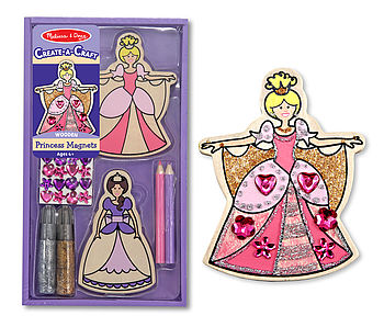 Decorate Your Own Princess Magnets