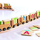 Personalised Eco Name Train