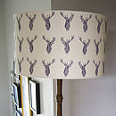 Stags Handmade Lampshade