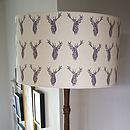 Stags Handmade Lampshade