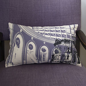 Leeds Corn Exchange Hand Printed Cushion