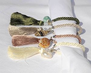 Shell Napkin Rings - Set Of Six
