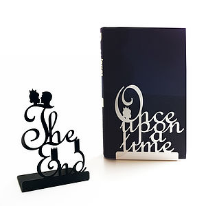 Pair Of Fairytale Bookends - home accessories