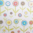 Design 1 Big Single Circle Flowers