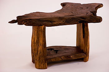 Rustic Handmade Side Table/Coffee Table