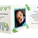 Ten Personalised Baby Photo Thank You Cards