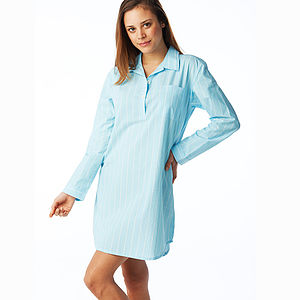 Women's Striped Nightshirt - lingerie & nightwear