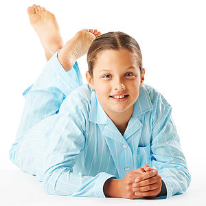 Girl's Striped Pyjamas 11-14yrs