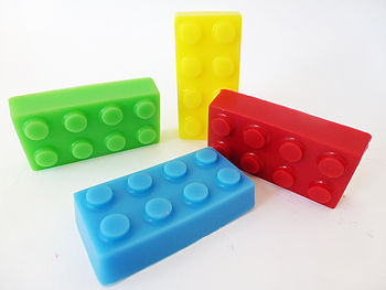 Handmade Set Of Four Large Soap Bricks
