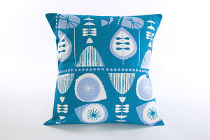 St Tropez Cushion - retro living room