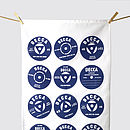 Vinyl Records Tea Towel