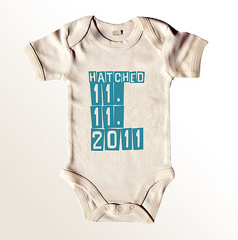 'Hatched' Baby Grow