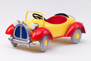 Noddy Pedal Car - cars & trains
