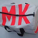 Personalised Sailcloth Kit Bags