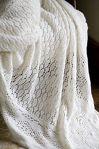 100% Cashmere Chadwick Shawl - blankets, comforters & throws
