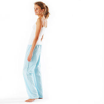Girls Turquoise Pyjama Bottoms 11-14yrs