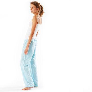 Girls Turquoise Pyjama Bottoms 11-14yrs