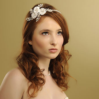 Handmade Faye Wedding Headpiece
