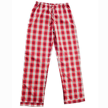 Teenager's Brushed Cotton PJ Bottoms 11-14yrs