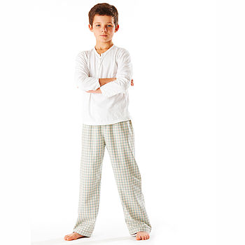 Boys Brushed Cotton PJ Trousers 11-12yrs