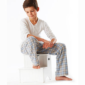 Boy's Brushed Cotton Pyjama Pants Nine 10yrs