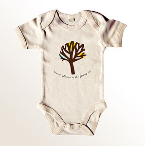 'Newest Addition' Baby Grow - clothing