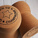 Giant Champagne Cork Stool 'Grand Vin' design GIFT OF THE YEAR 2012