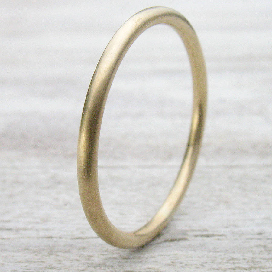 matte stacking polished il fullxfull band collections wedding solid or thin products ring rose bands gold flat in recycled