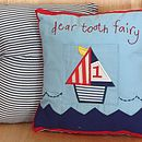 Dear Tooth Fairy Cushion