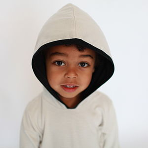 Organic Cotton And Modal Hoodie Top