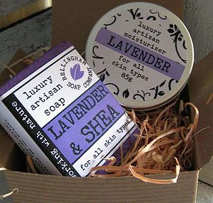 Lavender 'Merry Christmas' Gift Box - gift sets