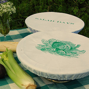Set Of Two Salad Bowl Covers - shop by price