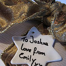 Porcelain Decorations And Gift Labels